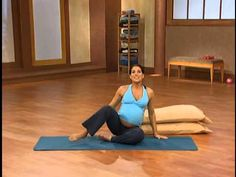 10 minute - Prenatal Pilates - YouTube