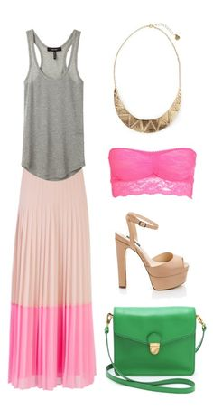 "Cute lunch date outfit. Its a bit ""LA"" and I don't know if I can pull it off... but I do love it!"