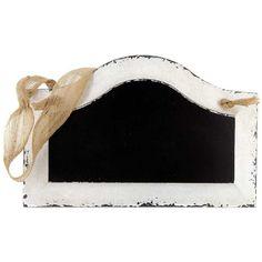 White & Black Hanging Chalkboard
