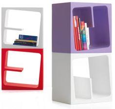 Stefan Bench: Quby Bookcase Shelves by B-LINE | NOVA68 Modern Design