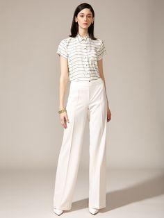 Wool Wide Leg Pant by Akris Punto on Gilt.com