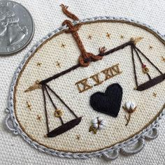 happy anniversary, yesterday! #tinycupneedleworks