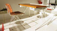 Vintage desk - Bureau Pilastro (NL)  années 50