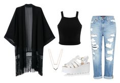 """""""Untitled #11"""" by elenkok on Polyvore featuring Genetic Denim, WithChic, Miss Selfridge, Michael Kors and Glamorous"""