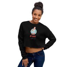 Crop Sweatshirt,sweatshirts, women's clothing Free Crop, Normal Wear And Tear, Cropped Hoodie, Black Girls, Fleece Fabric, Soft Fabrics, Casual, Sweatshirts, Hoodies
