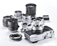 Appareil Photo | Fujifilm X-E1 « De Jeunes Gens Modernes