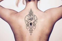 Mallana Boho Lotus Chandelier Jewelry Temporary Tattoo – MyBodiArt
