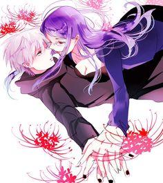 Rize and Kaneki