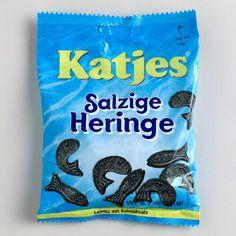 Katjes Soft Salty Fish Licorice, Set of 10