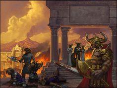Dragonlance, Minotaur Wars, Night of Blood by Matt Stawicki