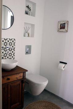 Badezimmereinblick | SoLebIch.de Foto: Inspirier.mich #solebich #Badezimmer  #ideen