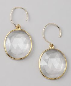 Take a look at this Amelia Rose Design Gold Cabo Gem Earrings by Amelia Rose Design  on #zulily today!
