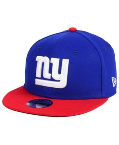 6a2225aa949 New Era Boys  New York Giants Two Tone 9FIFTY Snapback Cap - Blue Adjustable