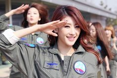 [OFFICIAL] Nine Muses - Military Air Force Base Special Images@Moon Hyuna    Source:nine-ladies  Reuploaded: by Esi
