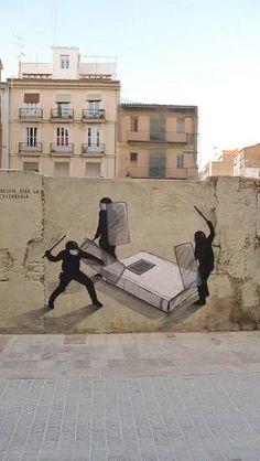 Street art - Greece - Escif