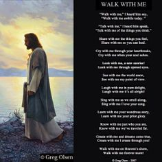 What would it be like to walk side by side with the Savior? What would we talk…