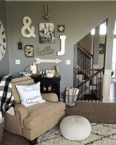 Impressive 30 Awesome Rustic Living Room Decoration Ideas