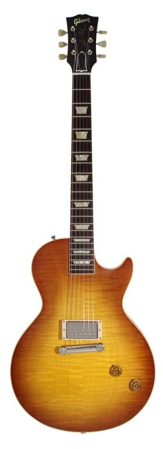 Gibson Custom Shop Limited Run 1958 Les Paul Reissue, 1 Pickup, Figured Top Iced Tea