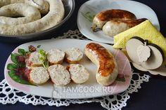 Фото колбасы из курицы в домашних условия