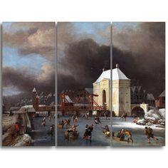 Design Art 'Johan van Kessel - By the Heilige Wegs Poort' Art Print