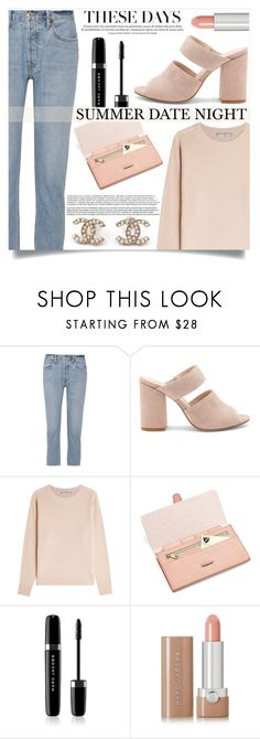 """""""Summer Date Night"""" by mistressofdarkness ❤ liked on Polyvore featuring RE/DONE, Raye, Vince, Aspinal of London, Marc Jacobs and Chanel"""