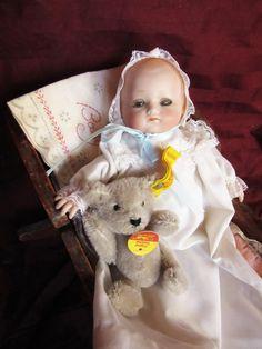 1920 Bisque headed Tiny Baby