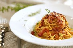 Doskonałe spaghetti carbonara