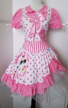 Harajuku Girl Sailor Moon Pink Sexy Cosplay Dress Halloween Costume Womens  L #PartyKing #Dress #Halloween