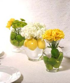 lots of variety with just a few selections! lemonlimehydrangea