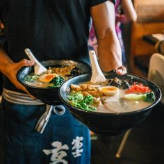 From ramen to robata, we round-up the best Japanese restaurants and eateries across Auckland to suit any mood. Tonkotsu Ramen, Auckland, Onion, Restaurants, Stuffed Mushrooms, Pork, Eggs, Suit, Japanese