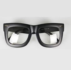 e40fb23123 Oversize Hron Rim Eyeglasses Unisex Fashion Square Frame Glasses Spectacles   AllYourFashion