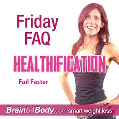 """Have you everexperienceda Failure, something painful, disappointing, gut-wrenchingand thought:""""Wow, I wish I'd drawnthatexperience out longer?"""" http://www.brainb4body.com/140-friday-faq-fail-faster/"""