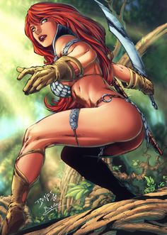 Red Sonja by Ed Benes and Humbert Cedric