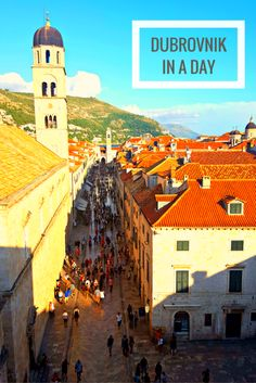 Dubrovnik, Croatia in a Day: What to See, Do, and Eat in 24 Hours.
