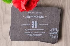 30th birthday party invites - Google Search