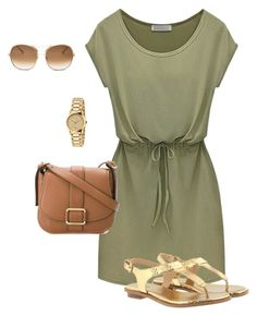 """militar"" by anamaria-64 on Polyvore featuring Chloé, MICHAEL Michael Kors and Gucci"