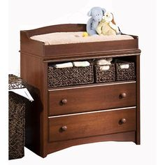 "South Shore Sweet Morning Changing Table - Royal Cherry - South Shore Furniture - Babies ""R"" Us"