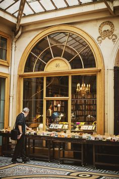 "shevyvision: "" ""Walking the stacks in a library, dragging your fingers across the spines — it's hard not to feel the presence of sleeping spirits."" ― Robin Sloan Librairie Ancienne et Moderne, Galerie..."