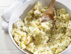Horseradish mashed potatoes. Yum!