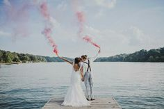 Trend We Love: Color Bomb Photography | Get Married Away 2016
