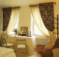 шторы на маленькие окна в спальню