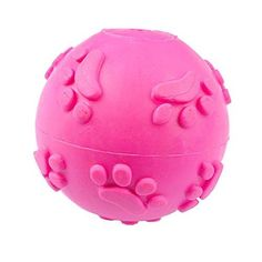 BleuMoo Teeth Bite Rubber Dog Cat Play Ball Products Interactive Toys >>> See this great product.