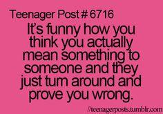 Still true in adulthood..