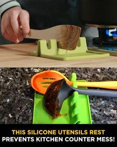 Cool Gadgets To Buy, Cool Kitchen Gadgets, Home Gadgets, Cooking Gadgets, Kitchen Hacks, Cool Kitchens, Kitchen Organization, Kitchen Storage, Food Storage