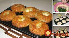 Muffini s jajima - Kuharski trikovi Sauces, Baked Oatmeal, Cheddar, Doughnut, Gluten, Cooking Recipes, Bread, Baking, Sweet