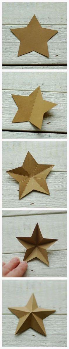 Kommt wir falten einen Stern [DIY] | kayhuderfjaeril | Bloglovin'