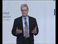 Intervención de Sir Ken Robinson, durante el Foro Ágora Talentia celebrado en Pamplona. (parte1)
