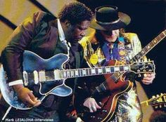 BB King & Stevie Ray Vaughn