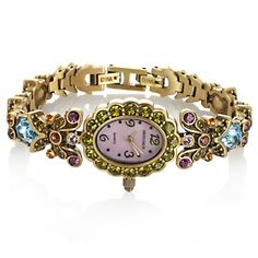 "Heidi Daus ""Heartfelt Desire"" Crystal Bracelet Watch at HSN.com."