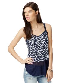 Floral Peplum Tank from Aéropostale